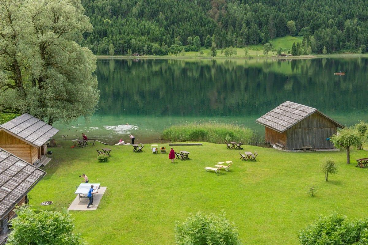 Ferienhof-Neusacher-Moser-Badestrand